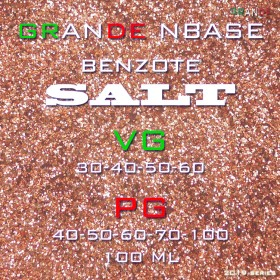 Grande Salt Base ( Benzote ) 100 ML