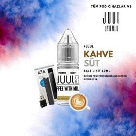 4 JUUL - COFFEE WITH MILK SALT LİKİT