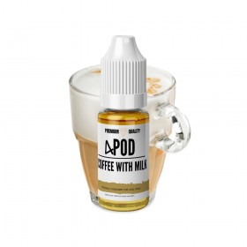 4 POD - COFFEE WITH MILK SALT LİKİT
