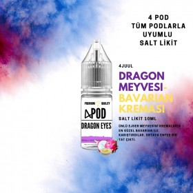 4 POD - DRAGON EYES SALT LİKİT
