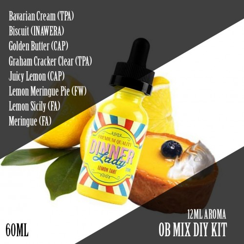 OB MIX DIYKIT LEMON TART