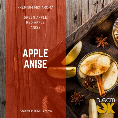 Apple Anise - Premium Steamok Aroma 10ML