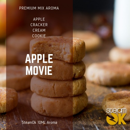 Apple Movie - Premium Steamok Aroma 10ML