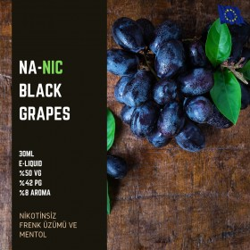Black Grapes - Nanic - Nikotinsiz 30ML Likit