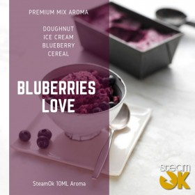 Blueberries Love - Premium Steamok Aroma 10ML