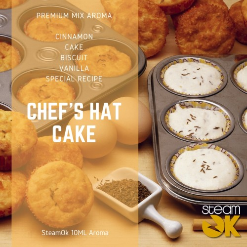 Chef Hot Cakes - Premium Steamok Aroma 10ML