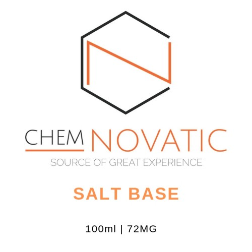 Chemnovatic Salt Base 72mg 100ML