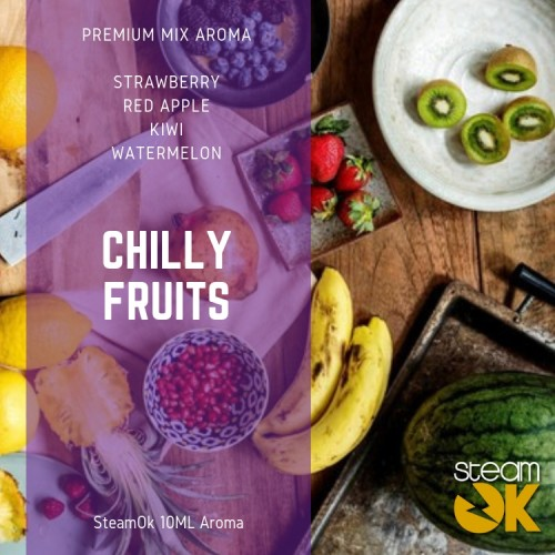 Chilly Fruits - Premium Steamok Aroma 10ML