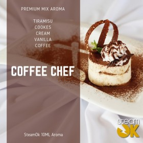 Coffee Chef - Premium Steamok Aroma 10ML