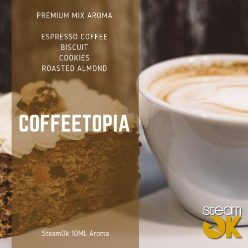 Coffee Topia - Premium Steamok Aroma 10ML
