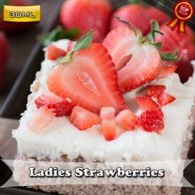 E Liquid Factory - Ladies Strawberries 30ML Likit