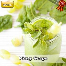 E Liquid Factory - Minty Grape 30ML Likit