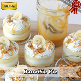 E Liquid Factory - Banoffie Pie 30ML Likit