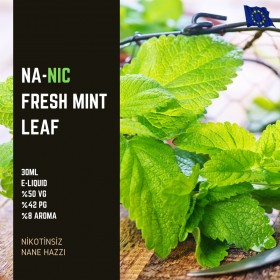 Fresh Mint Leaf - Nanic - Nikotinsiz 30ML Likit