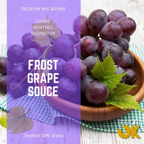 Frost Grape Souce - Premium Steamok Aroma 10ML