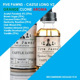 Grande Clone Castle Long V2 Aroması 10ML