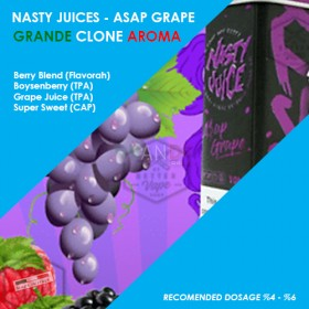 Grande Clone Nasty Juices Asap Grape Aroması 10ML