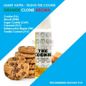 Grande Clone Teleos The Cookie Aroması 10ML