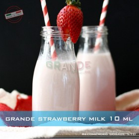 Grande Strawberry Milk ( Çilekli Süt ) Aroması 10ML