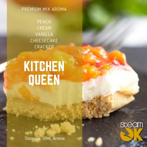 Kitchen Queen - Premium Steamok Aroma 10ML