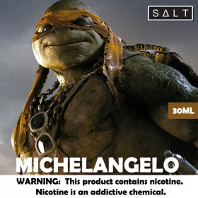 Michelangelo SALT 30ML - TURTLES