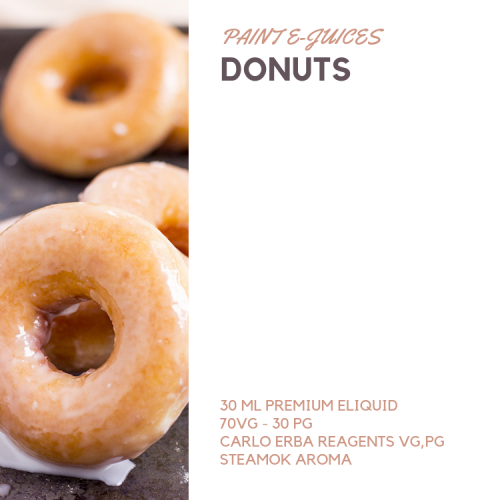 Paint e-Juices - Donuts Likit