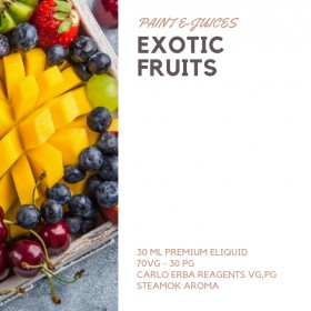 Paint e-Juices - Exotic Fruits ( Egzotik Meyveler ) Likit