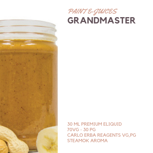 Paint e-Juices - Grandmaster Likit