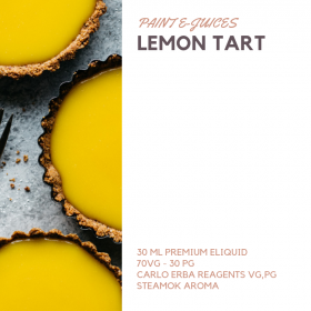 Paint e-Juices - Lemon Tart Likit