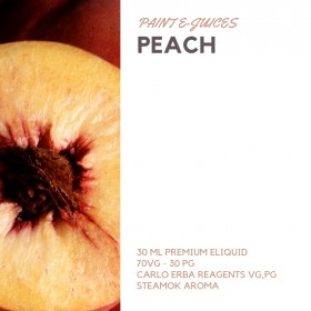 Paint e-Juices - Peach ( Şeftali ) Likit
