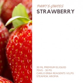 Paint e-Juices - Strawberry ( Çilek ) Likit