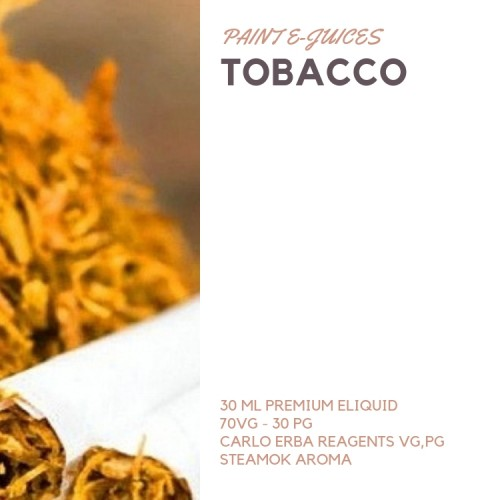 Paint e-Juices - Traditional Tobacco ( Tütün ) Likit