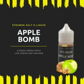 SteamOk Apple Bomb 30ML Salt Likit