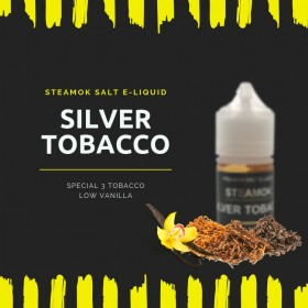 SteamOk Silver Tobacco 30ML Salt Likit