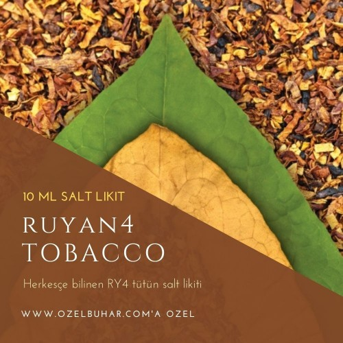 Tobacco Series - Ruyan4 - Salt Likit - 10ML